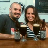 LIBERTINE BLACK ALE. Elaborada en Escocia por Brewdog. Estilo Black IPA. 7,2% Alc. https://www.brewdog.com